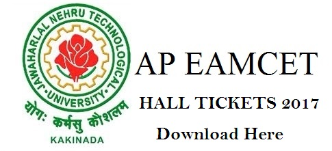 AP EAMCET Hall Tickets 2017