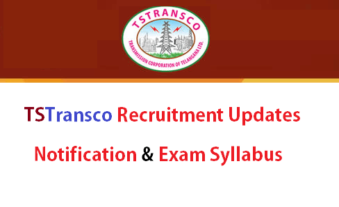 TSTRANSCO Recruitment Notification 2018