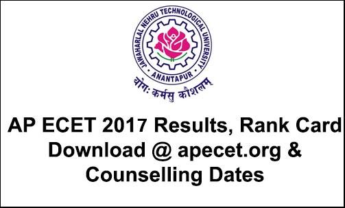 AP ECET RESULTS 2017