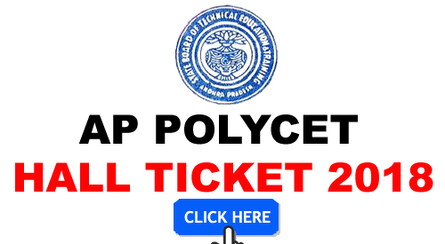 AP POLYCET Admit Card 2018