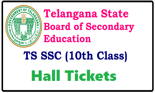 TS SSC Hall Tickets 2018 Download