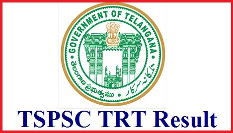 TSPSC TRT Results 2018