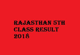 Rajasthan 5th Class Result