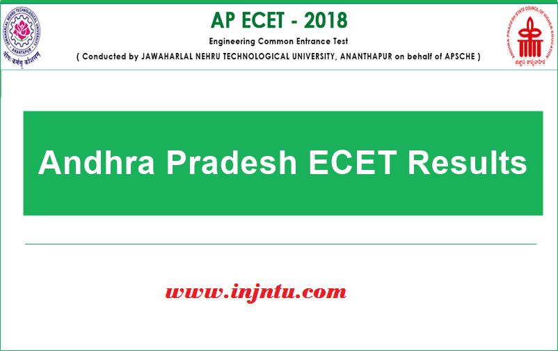 AP ECET Result 2018, AP ECET Merit List & Score Card